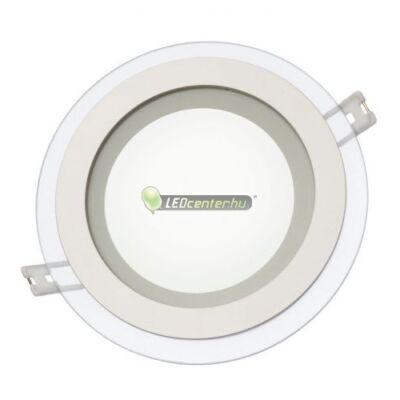 FIALE DESIGN 12W kerek LED mennyezeti lámpa melegfehér 2évGar