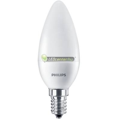 PHILIPS CorePro 7W=60W E14 LED FR gyertyaégő, természetes fehér