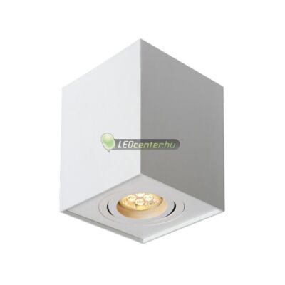 CHLOE GU10/230V elegáns, szögletes fehér billenthető mennyezeti lámpatest