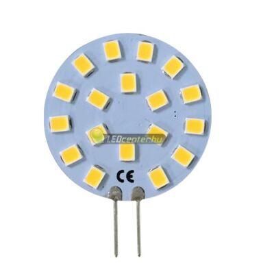 SOLIS+ G4/12V 18 SMD2835 LED, oldalsó lábakkal, melegfehér