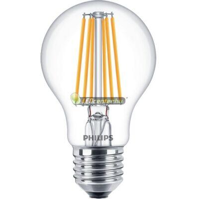 PHILIPS CLASSIC 8W=75W LED E27 körteégő, melegfehér