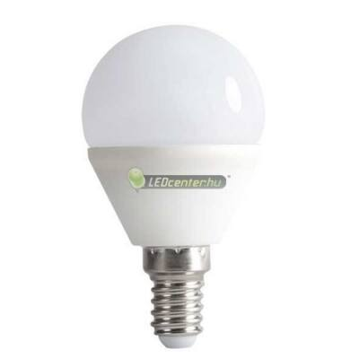 BILO 6,5W=50W E14 600 lumen melegfehér LED kisgömb