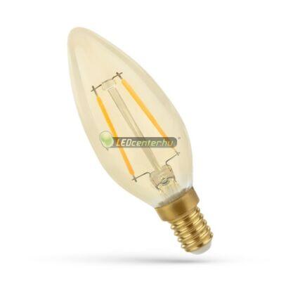 Spectrum RETRO 2W=25W E14 2300K LED gyertya, extra melegfehér