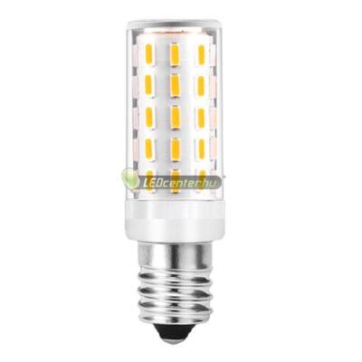LATUS-6 3,3W=40W E14 440 lumen melegfehér mini LED égő, hűtőgéplámpa 3évGar
