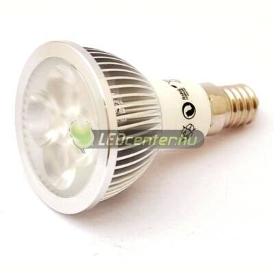 SOLIS 4W=40W E14 330 lumen melegfehér LED szpot 3évGar