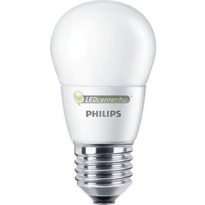 PHILIPS CorePro 7W=60W E27 LED FR kisgömb, melegfehér