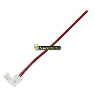 8 mm-es LED szalaghoz forrasztásmentes betáp vezeték