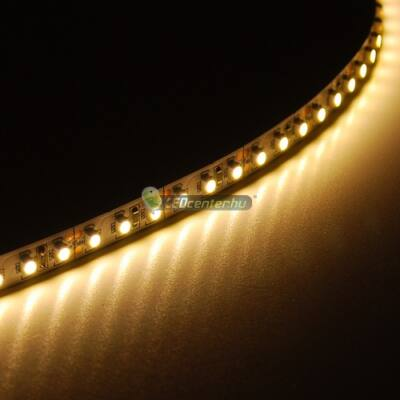 AURORA+ 120 SMD3528 9,6W/m beltéri LED szalag, melegfehér 2évG