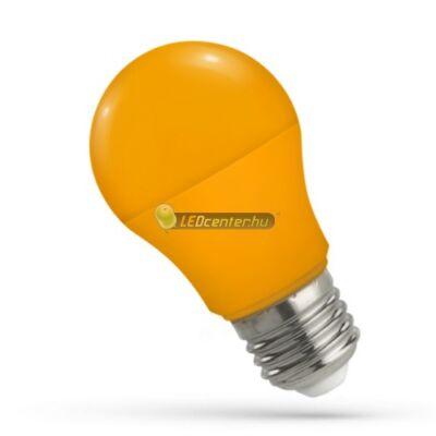 Spectrum 5W E27 narancs dekorációs LED kisgömb