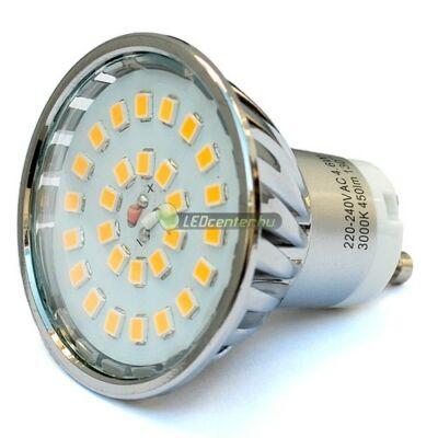 FLAMMA+ 5W=50W GU10 450 lumen természetes fehér LED szpot 4évGar