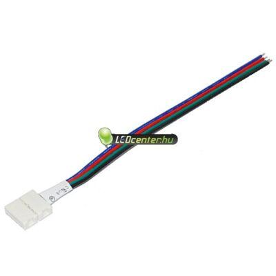 RGB forrasztásmentes betáp vezeték