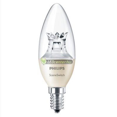 PHILIPS SceneSwitch 5,5W=40/20/10W LED E14 égő, melegfehér