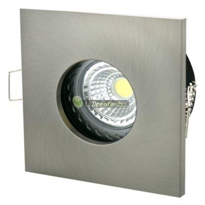 FIALE IV GU10 IP65 fix lámpatest, négyzet matt ezüst
