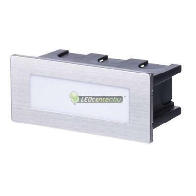 WAND-5 lépcső- és oldalfali lámpa, 1,5W, 230V, IP65, melegfehér