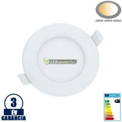 INTI IP44 9W LED mennyezeti lámpa változtatható színhőmérséklet, fényerőszab. 3évG