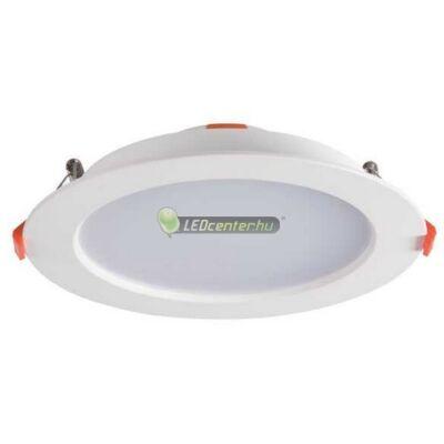 LITEN 18W 1200 lumen kerek fehér LED mennyezeti lámpa melegfehér