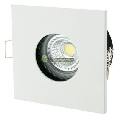 FIALE IV GU10 IP65 fix lámpatest, négyzet fehér