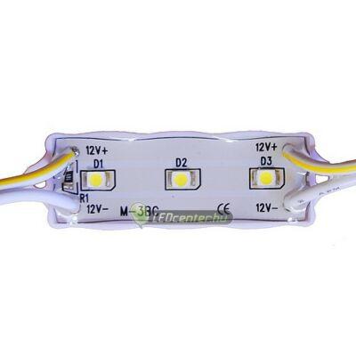 GLORIA LED modul, 3 SMD3528 LED, hidegfehér