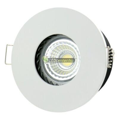 FIALE IV GU10 IP65 fix lámpatest, kerek fehér