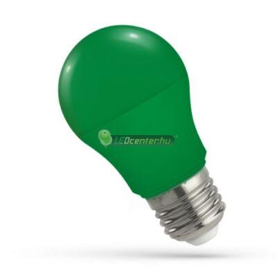 Spectrum 5W E27 zöld dekorációs LED kisgömb