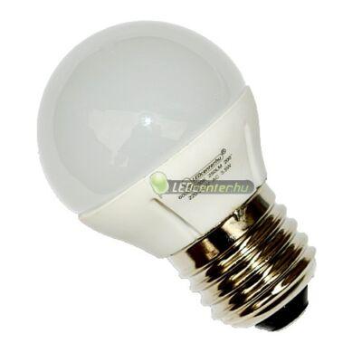 GLORIA-4 3,5W=25W E27 250 lumen hidegfehér LED kisgömb 3évGar