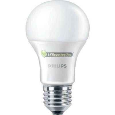 PHILIPS CorePro 8,5W=60W E27 szabályozható melegfehér LED körteégő