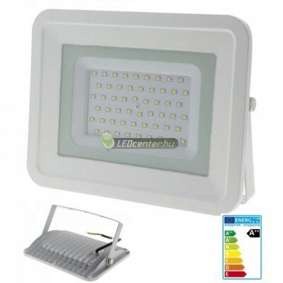 SLIM2 fehér LED reflektor, fényvető, 50W/230V, melegfehér, 2évG