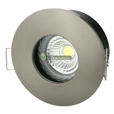 FIALE IV GU10 IP65 fix lámpatest, kerek matt ezüst