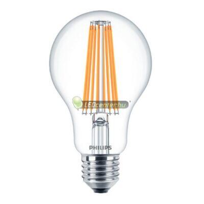 PHILIPS CLASSIC 11W=100W LED E27 körteégő, melegfehér
