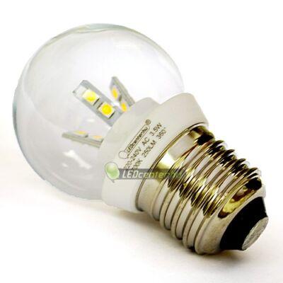 GLORIA-5 3,5W=25W E27 250 lumen hidegfehér LED kisgömb 3évGar