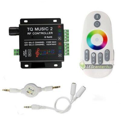 FIESTA-10 RGB RF MUSIC vezérlőegység érintős, 216 W