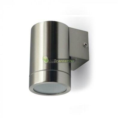 WAND-1 inox kerek kültéri fali lámpa 1xGU10, IP44