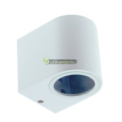 Bianco-1 alumínium kerek fehér kültéri fali lámpa 1xGU10, IP44