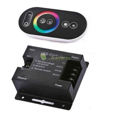 FIESTA-7 RGB RF vezérlőegység érintős, színes, 216 W