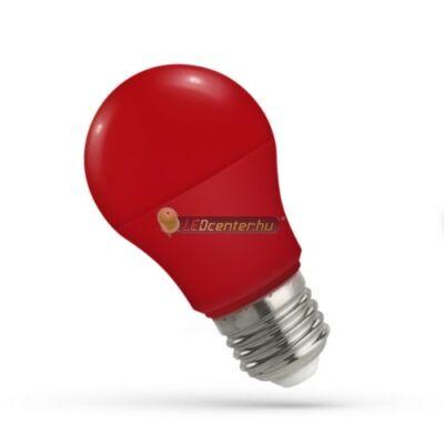 Spectrum 5W E27 piros dekorációs LED kisgömb