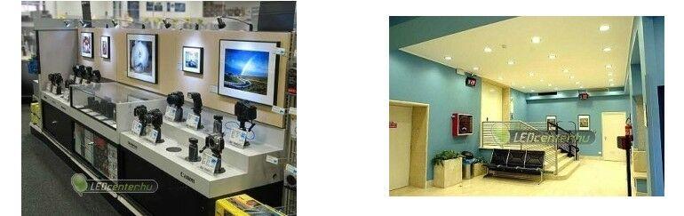 Üzlet és iroda megvilágítás LED-del