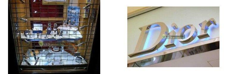 Kirakat SMD5050 szpotokkal és homlokzati indirekt világítás