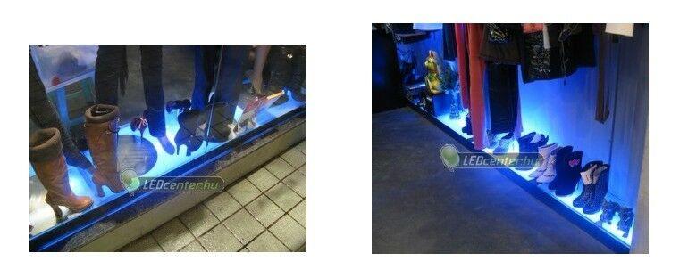 Kék LED szalagos dekorációs világítás